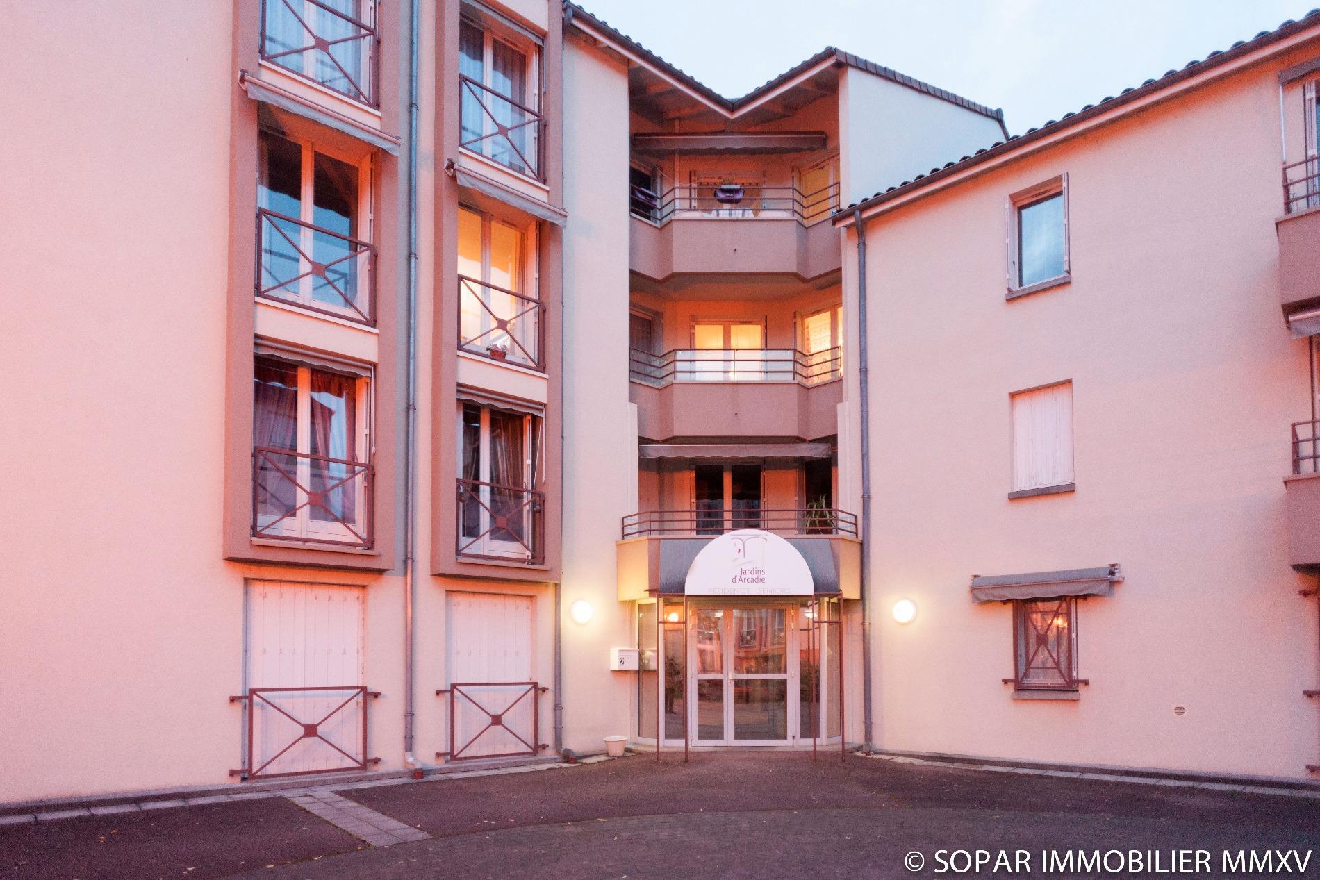 vente Appartement type 2 résidence les Jardins d Arca